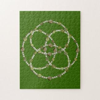 パズル-横断する真珠および石 ジグソーパズル