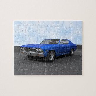 パズル: 1968年のChevelle SS: 青い終わり ジグソーパズル