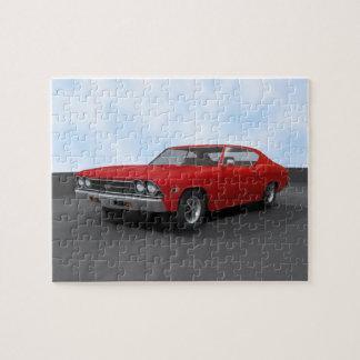 パズル: 1969年のChevelle SS: 赤い終わり ジグソーパズル