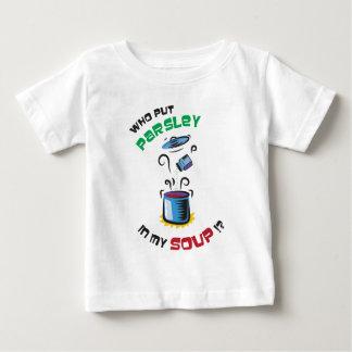 パセリスープ ベビーTシャツ
