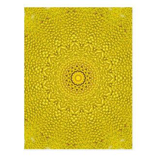 パターンのような花のパラミツのスケール ポストカード