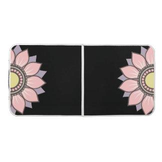 パターンデザインのPongの花のモダンなテーブル ビアポンテーブル