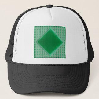 パターンワイシャツ99を切り分ける緑のオニックスの水晶石 キャップ
