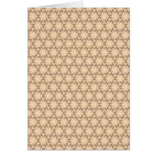 パターン芸術deco グリーティングカード