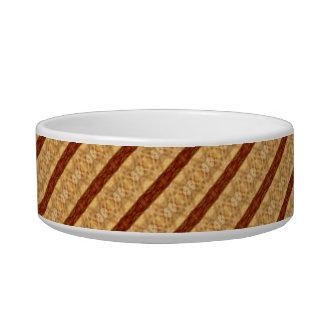 パターン(の模様が)あるなペットボール 猫のえさ皿