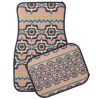 パターン(の模様が)あるなモダンでスタイリッシュなモロッコのスタイルの繰り返し カーマット