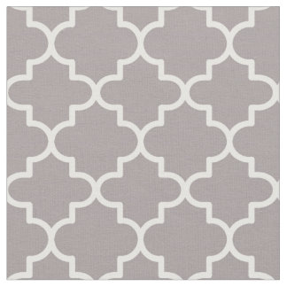 パターン(の模様が)あるなモロッコのクローバー ファブリック