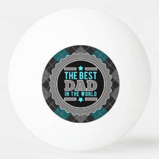 パターン(の模様が)あるな世界のアーガイルの最も最高のなパパ ピンポン球