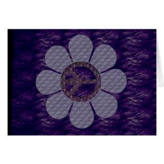 パターン(の模様が)あるな平和花 カード
