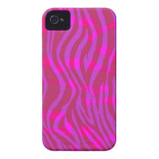 パターン(の模様が)あるな明るいピンクのシマウマのプリント Case-Mate iPhone 4 ケース