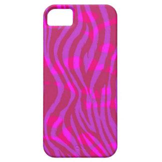 パターン(の模様が)あるな明るいピンクのシマウマのプリント iPhone SE/5/5s ケース