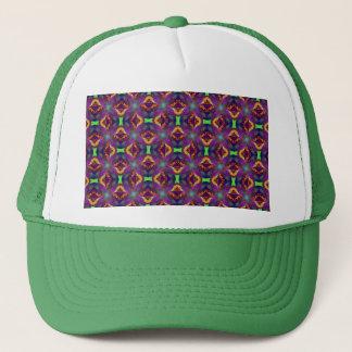 パターン(の模様が)あるな紫色のチューリップのフラクタル キャップ