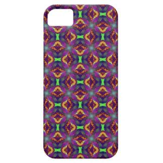 パターン(の模様が)あるな紫色のチューリップのフラクタル iPhone SE/5/5s ケース