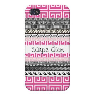パターン(の模様が)あるなiphone 4ケース: 日を握って下さい iPhone 4/4S ケース