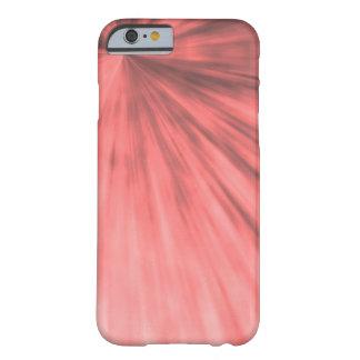 パターンIphoneの芸術的で赤く、ピンク箱 Barely There iPhone 6 ケース