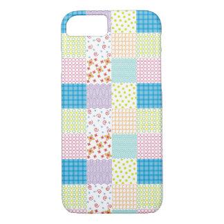 パターンiPhone 7の箱か皮またはカバーキルトにして下さい iPhone 8/7ケース