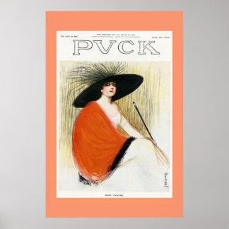 パックの雑誌カバー1912年 ポスター