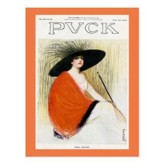 パックの雑誌カバー1912年 ポストカード