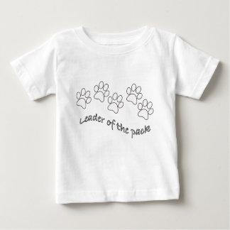 パック犬の恋人のリーダー ベビーTシャツ