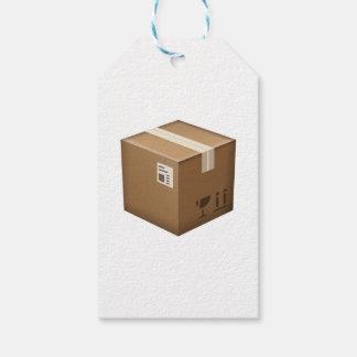 パッケージ箱- Emoji ギフトタグ
