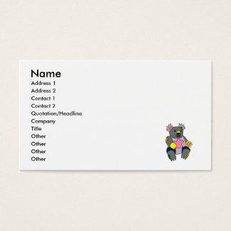 パッチワークのコアラ 名刺