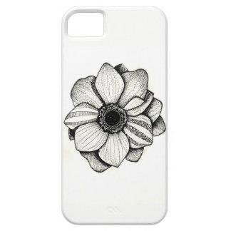 パッチワークの花の電話箱 iPhone SE/5/5s ケース
