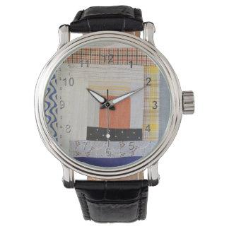 パッチワーク 腕時計