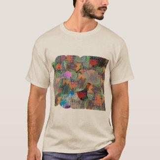 パッチワーク Tシャツ