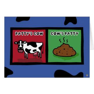 パティーの牛 カード