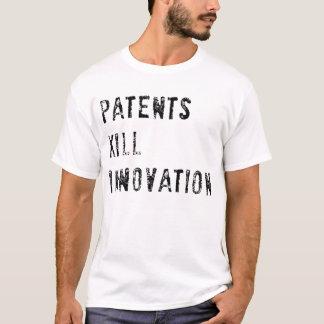 パテントの殺害の革新(ライト) Tシャツ