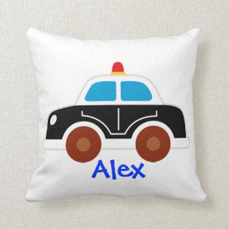 パトカーの普通消防車の枕 クッション