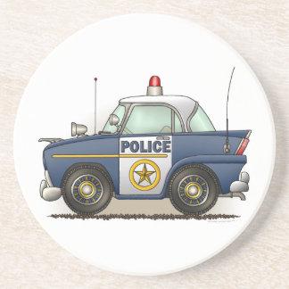 パトカーの警察のCrusierの警察官車のコースター コースター