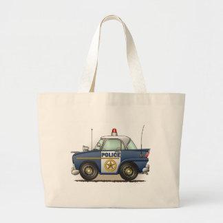 パトカーの警察のCrusierの警察官車のトートバック ラージトートバッグ