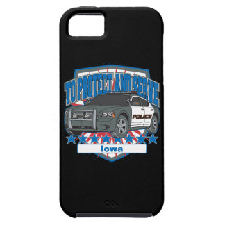 パトカーアイオワを役立つため保護し、 iPhone SE/5/5s ケース
