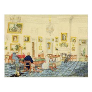 パトナの芸術家の家の冬部屋、 ポストカード
