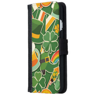 パトリキウスのコラージュ iPhone 6/6S ウォレットケース