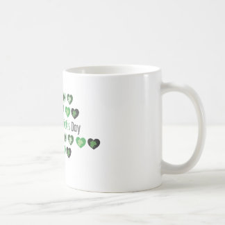 パトリキウスの日の小型ハート コーヒーマグカップ