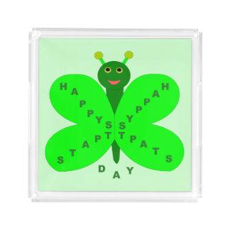 パトリキウスの日の蝶アクリルのトレイ アクリルトレー