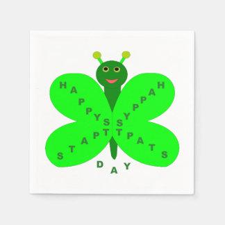パトリキウスの日の蝶紙ナプキン スタンダードカクテルナプキン