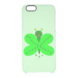 パトリキウスの日の蝶iPhoneの場合 クリアiPhone 6/6Sケース