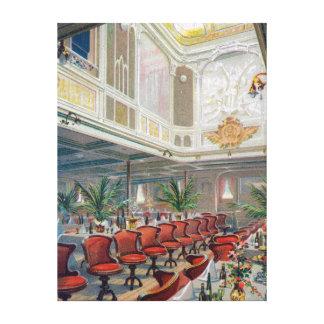 パトリシアの大食堂、ハンブルクアメリカライン キャンバスプリント