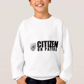 パトロールの市民 スウェットシャツ