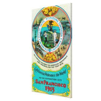 パナマ太平洋の国際的な博覧会2 キャンバスプリント