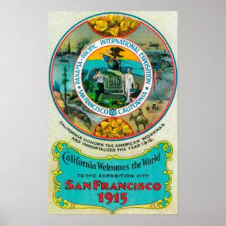 パナマ太平洋の国際的な博覧会2 ポスター