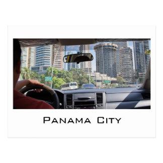 パナマ市からの郵便はがき ポストカード