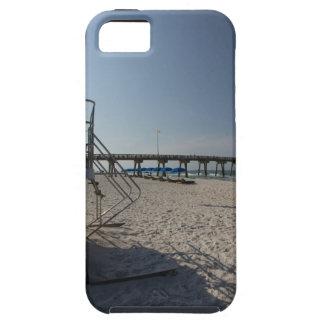パナマ市のビーチ桟橋のライフガードタワー iPhone SE/5/5s ケース