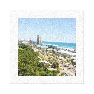 パナマ市のビーチ キャンバスプリント