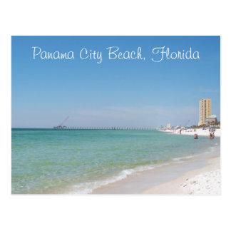 パナマ市のビーチ、フロリダの郵便はがき ポストカード