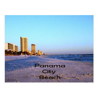 パナマ市のビーチ ポストカード