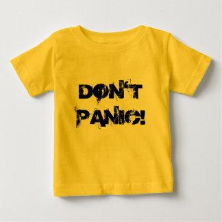 パニックに陥らないで下さい! ベビーTシャツ